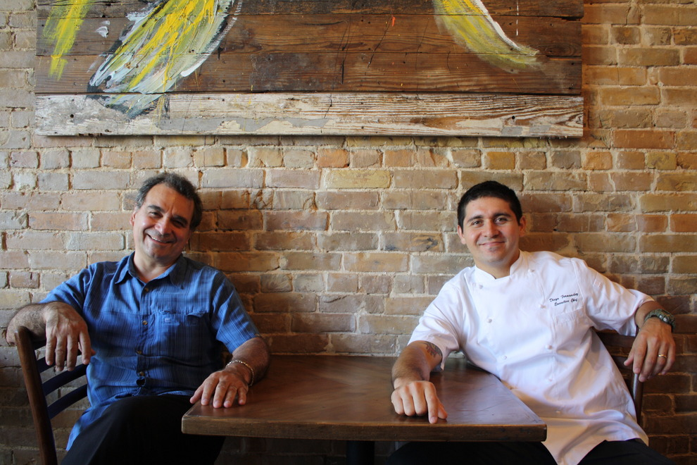 Father / Son Duo: Chef Rene Fernandez and Chef Diego Fernandez