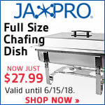 Jaxpro Full-Size Chafing Dish for just $29.99. Shop now!