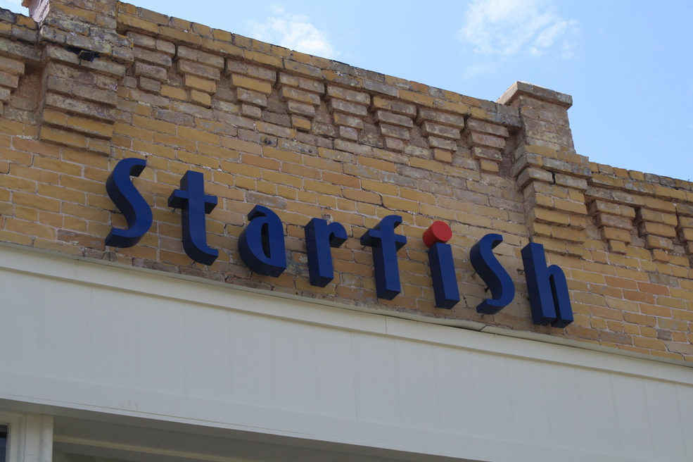 Starfish on South Alamo Street, San Antonio