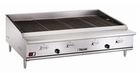 Restaurant Kitchen Grill cleaning your vulcan charbroiler - mission restaurant supply blog