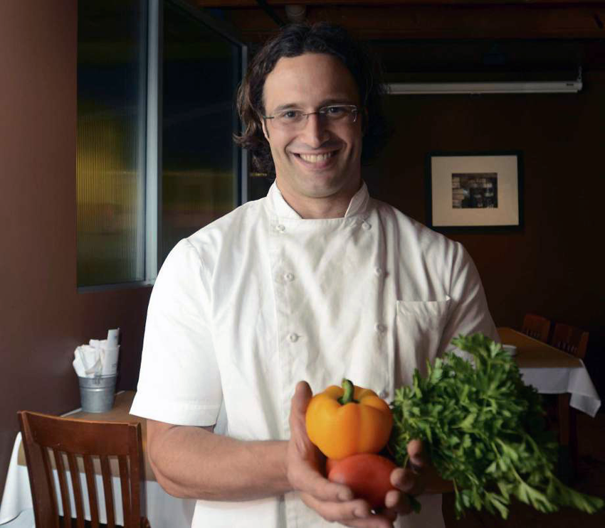 Silo Executive Chef Luca Della Casa. (courtesy San Antonio Express-News)