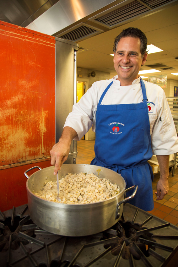 Chef Louis Ortiz, Executive Chef at Austin Independent School District.