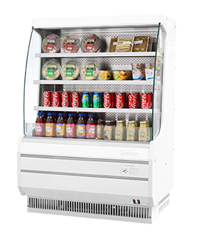 Turbo Air Vertical Open Display Merchandiser