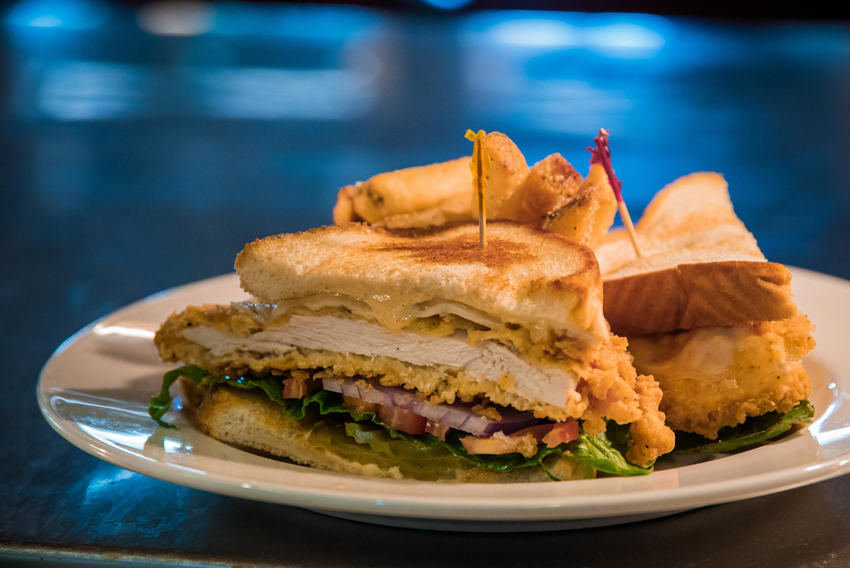 The mouth-watering Chef's Famous Chicken Sandwich