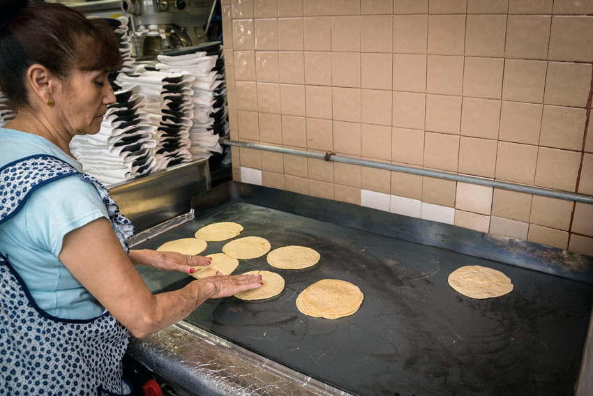 Great tortillas are best served hot and fresh.