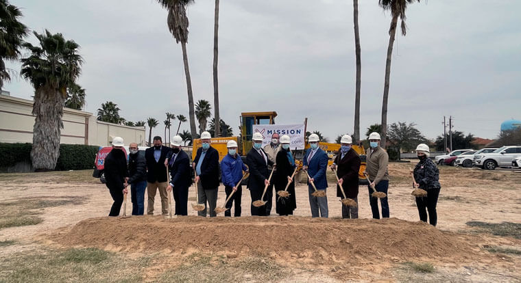Breaking Ground in McAllen, Texas