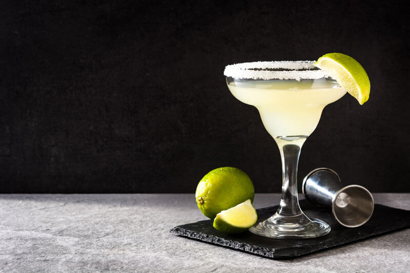 Margariat Cocktail with Lime