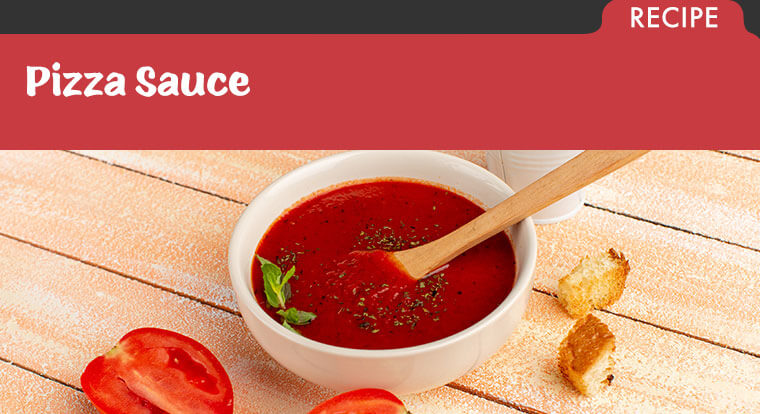 Recipe for Pizza Sauce