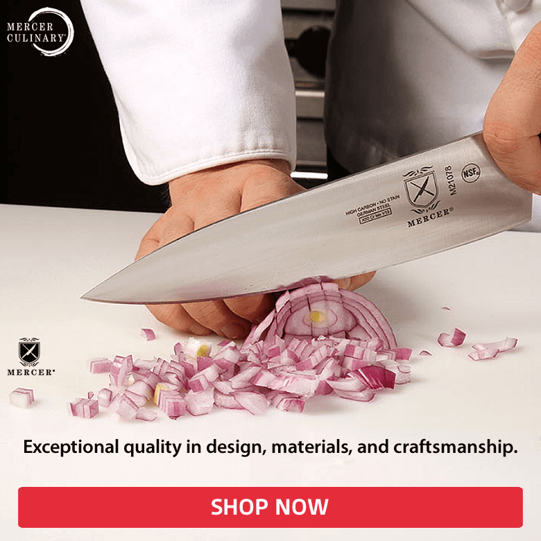 Mercer Cutlery. Exceptional quality in design, materials, and craftmanship. Shop now!