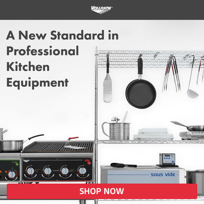 Vollrath. A new standard in professional kitchen equipment. Shop now!