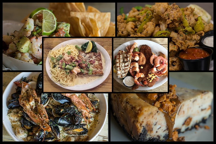 There's something for everyone on the restaurant's wide-ranging menu.