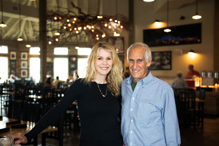 Husband-and-wife team Stephanie and Jay Kenigsberg are the owners of Seafood and Spaghetti Works.